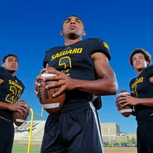 Saguaro will roll out with receivers Christian Kirk and Byron Murphy and running back Kam'ron Johnson, who can make it very difficult for a tough Chaparral defense to defend the reigning Division III champions.