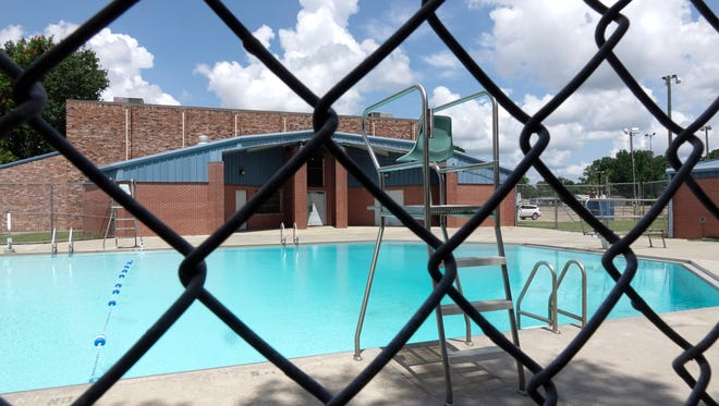 The pool at the Martin Luther King Center  in Lafayette July 8,  2017.