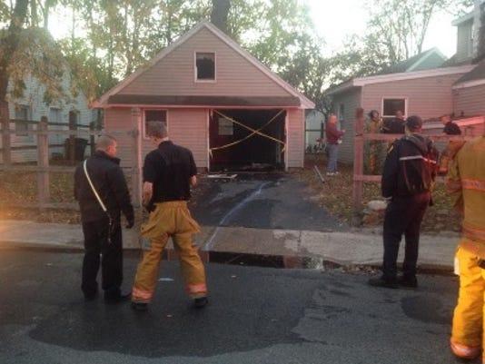 Princeton Avenue arson