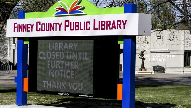 Although the Finney County Public Library is closed to the public during the COVID-19 pandemic, its staff has adapted many programs and classes to be offerred strictly online. The library is now open by appointment and offers cubside pickup.