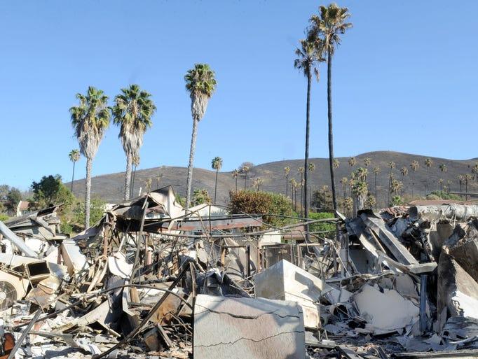 Vista Del Mar Hospital lost 2 building that were burn