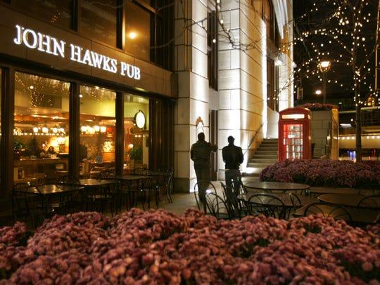 John Hawks Pub, a Milwaukee Landmark along the Riverwalk