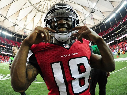 Taylor Gabriel spent two years with the Cleveland Browns