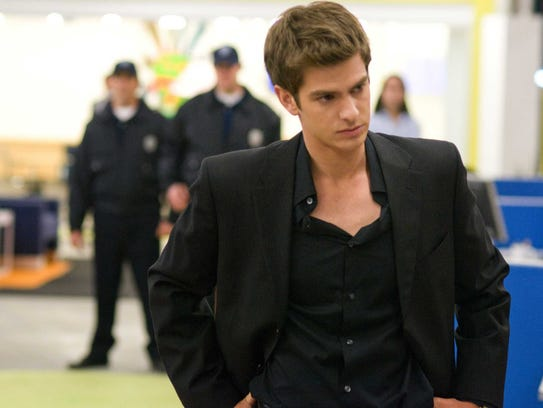 "Andrew Garfield plays Eduardo Saverin in ""The Social"