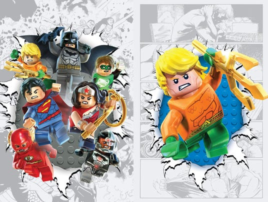 LEGO DC covers
