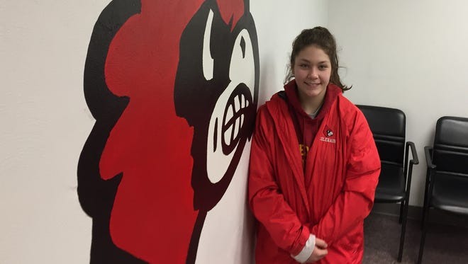 Colerain junior Cassie Smith is moving up in national girls wrestling rankings.