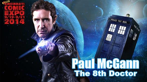 Paul McGann Comic Expo 2014
