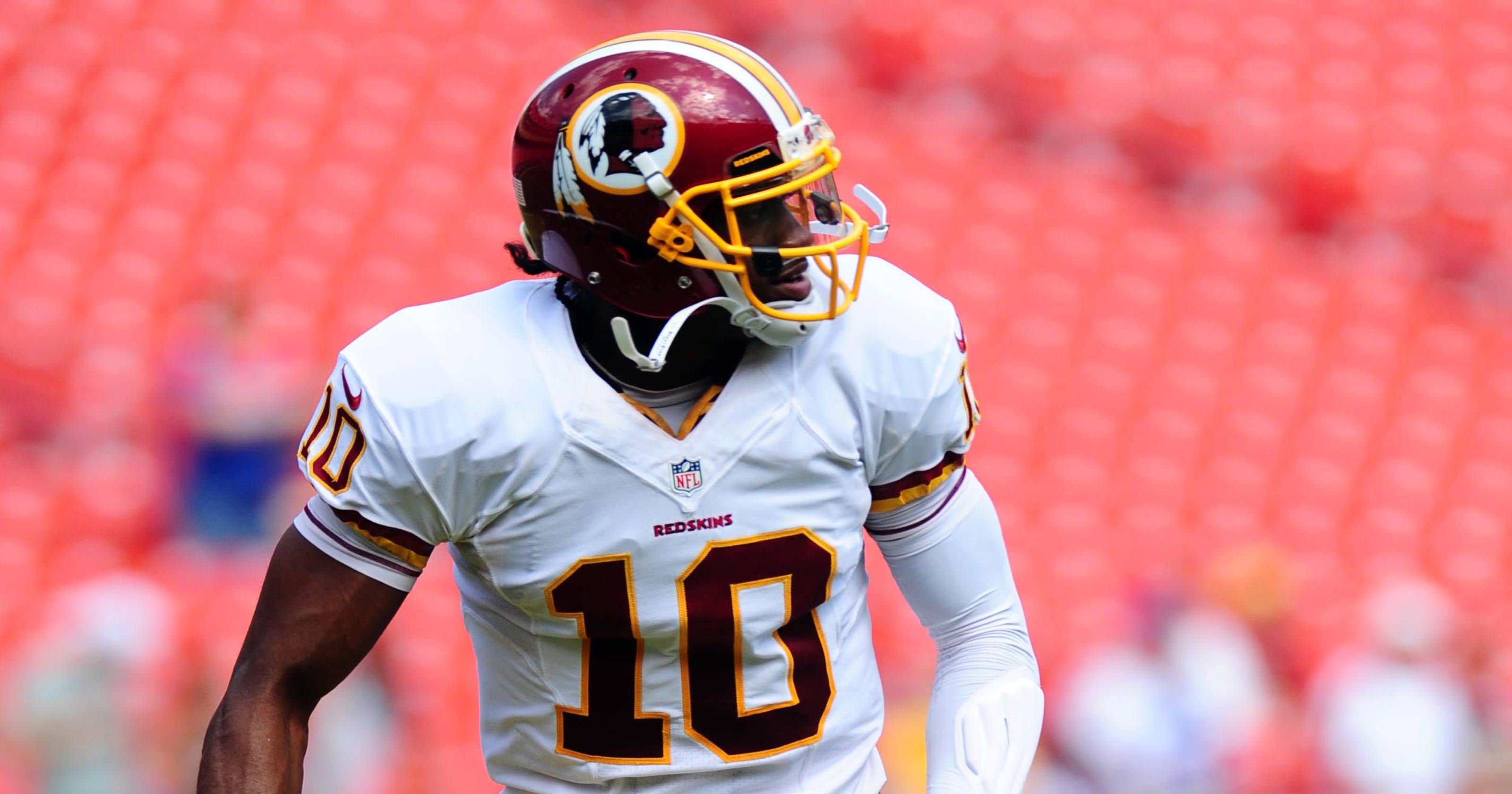 Another positive step for RG3 prior to Redskins-Bills 79ceeeb3d