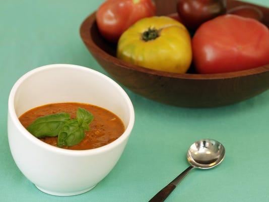 tomato and watermelon gazpacho