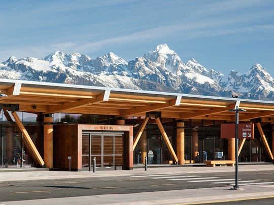 Wyoming's Jackson Hole Airport is the only commercial