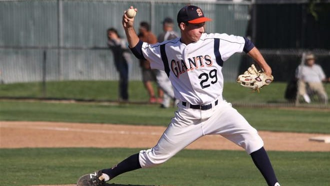 Josh Bower and the COS baseball team hosts West Hills Coalinga on Friday for a key Central Valley Conference game.