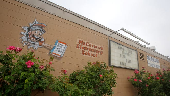 McCormick Elementary School in Farmington is pictured June 24, 2015. Renovation of the school is among the projects expected to be discussed on Wednesday when the Farmington Municipal School District hosts a community meeting on its facility master plan.
