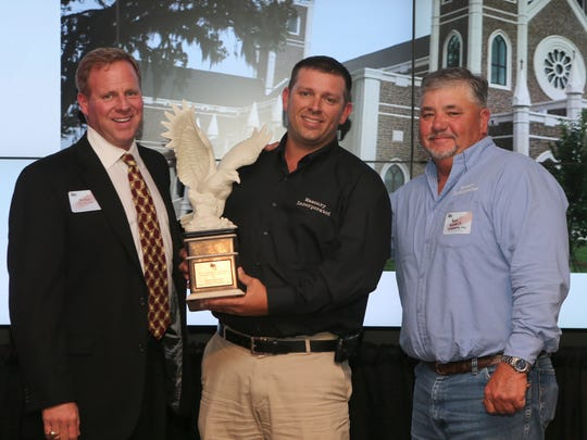 Masonry Incorporated won the Specialty Project of the Year Award for its work on the St. Peter's Anglican Church.