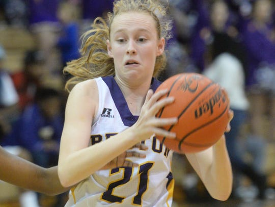Back-to-back 3-pointers by Emily Ward helped Benton