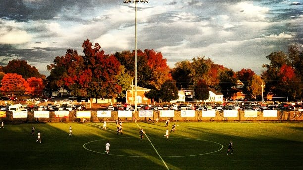 Arad McCutchan Stadium will host an exhibition match between the Indy Eleven and Louisville City FC on March 18.