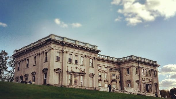 An exterior shot of the Mills Mansion at the Staatsburg Historic Site. The site was one of three Dutchess County parks and sites to receive state funds through NY Works.