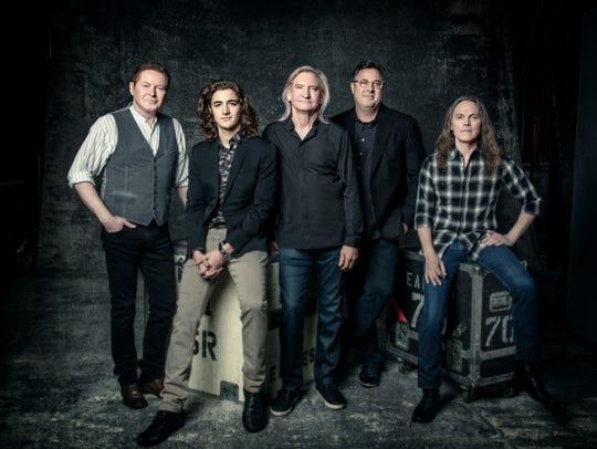 The Eagles (from left, Don Henley, Deacon Frey, Joe