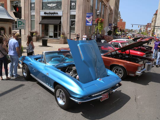 Car lovers from all across the area come to downtown Mansfield to enjoy the annual Heart of Ohio Cruise-In, which returns Saturday.