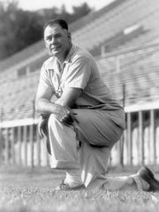 University of Tennessee football Coach Robert R. Neyland in an undated photo.