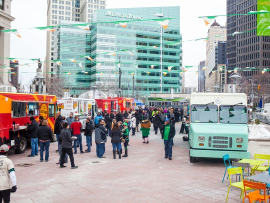 Food truck season kicks off at four area venues downtown