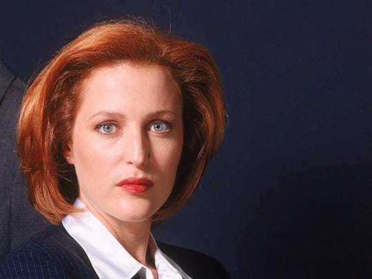 """Gillian Anderson portrayed agent Dana Scully on """"The X-Files."""""""