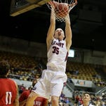Belmont's Evan Bradds was named to the Associated Press All-America Honorable Mention list Tuesday.