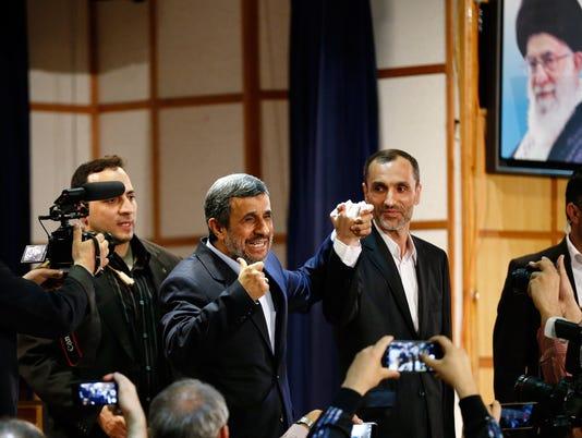 EPA IRAN ELECTIONS POL ELECTIONS IRA