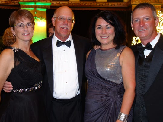 Kay and Tim Flesch and Gwen and Michael Sandefur.
