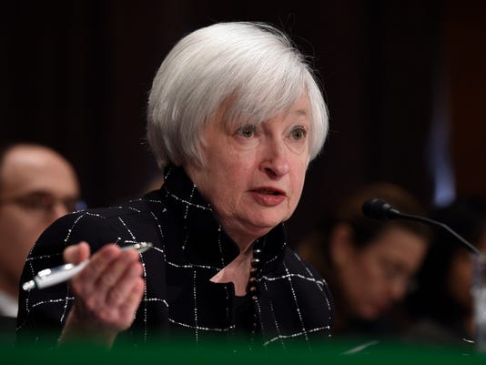 AP FEDERAL RESERVE YELLEN A F USA DC
