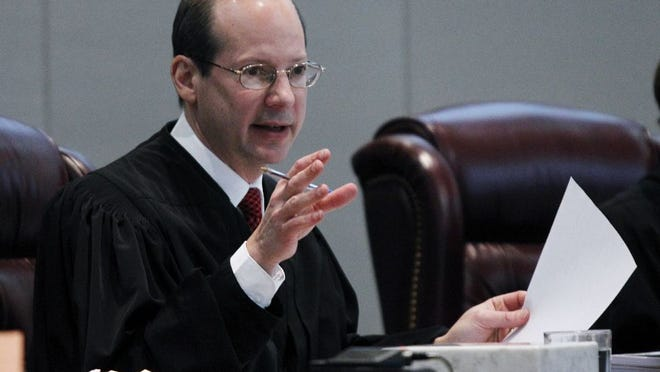 Chief Justice Stuart Rabner of the New Jersey Supreme Court.
