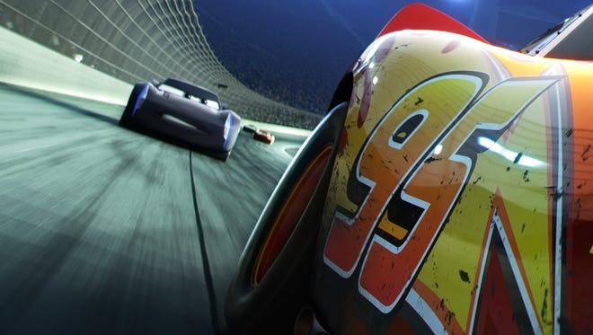"""The legendary #95 may be leading the pack, but the high-tech Next Gen racers are closing in fast. Directed by Brian Fee and produced by Kevin Reher, """"Cars 3"""" cruises into theaters on June 16, 2017."""