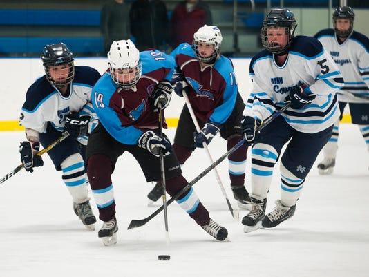 North Country vs. MMU Girls Hockey 02/11/15