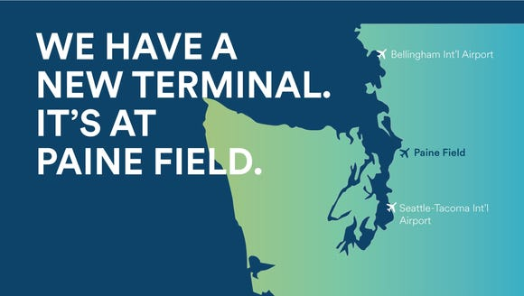 Alaska Airlines issued this map in announcing it planned