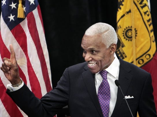 January 29, 2014 — Memphis Mayor AC Wharton delivers