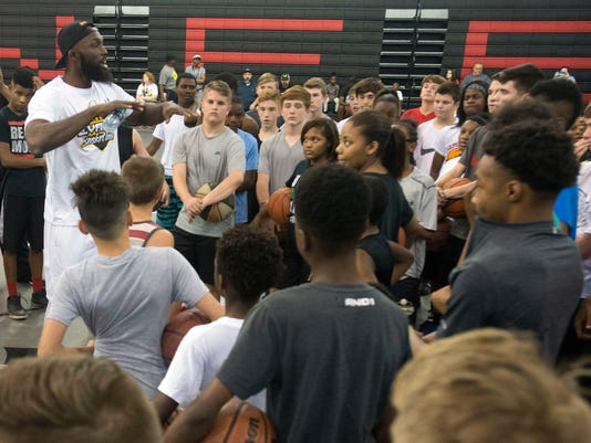 Reggie Evans Basketball Clinic