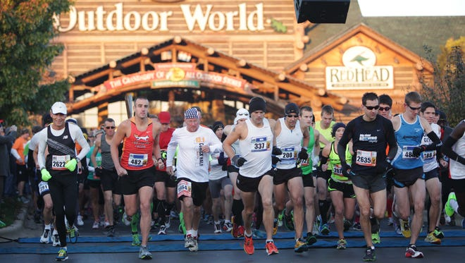 More than 3,500 runners will race on Springfield streets Sunday during the 10th annual Bass Pro Shops marathon weekend.