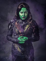 """Laura Matula as the Wicked Witch of the West in Studio Tenn Theatre's """"The Wizard of Oz."""""""