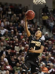 Led by guard Jamierra Faulkner, Southern Miss women's basketball won 27 games, claimed runner-up at the Conference USA Tournament and made a WNIT appearance.