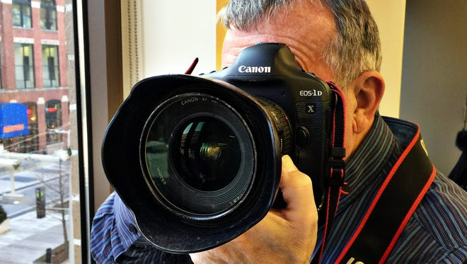 Charlie Nye is one of the staff photographers working at the Indianapolis Star