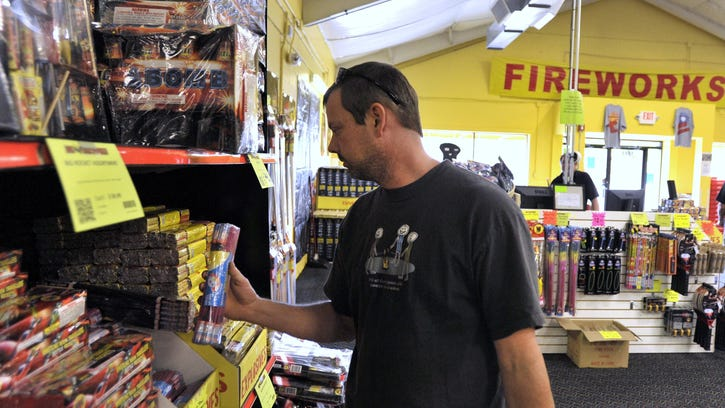 Finley: Knock off the noise; restore fireworks limits