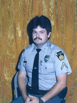 Former West Manheim Township Police Chief Tim Hippensteel, seen here in 1988.