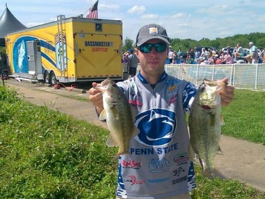 West york grad 39 can 39 t get enough 39 with psu fishing club for Local bass fishing clubs