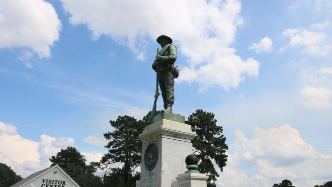Amid the death of George Floyd in Minneapolis, protests throughout the country, and the removal of Civil War Confederate statues in North Carolina, the statue of a Confederate soldier, located outside at the corner of U.S. 70 and Hwy. 258 South, could be removed from the Kinston-Lenoir County Visitors Center on Lenoir County property.