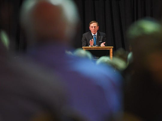 David Petraeus, the four-star Army general and former