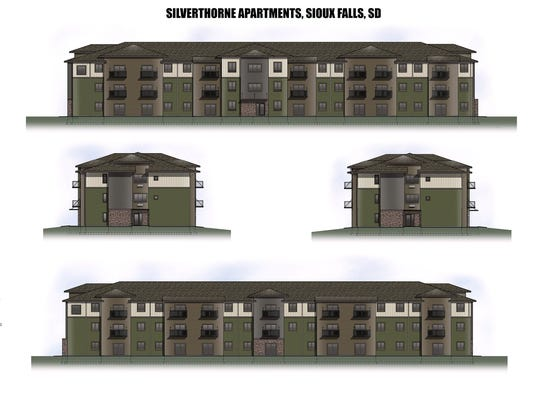 Renderings of Silverthorne Flats, 2105 S. Silverthorne