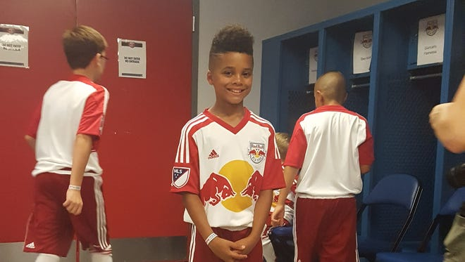 Noah Mellen from Poughkeepsie will be participating in the finals of the New York Red Bulls skills challenge on Sunday.