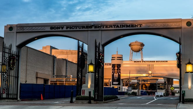 "The headquarters of Sony Pictures in Culver City, Calif. Sony has canceled the release of the film ""The Interview"" after a cyber attack."