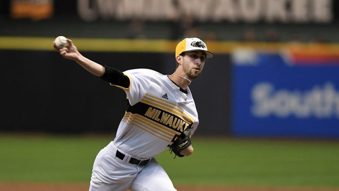 UW-Milwaukee pitcher and Stevens Point native Austin Schulfer has entrenched himself at the top of the Panthers pitching rotation the past two seasons.
