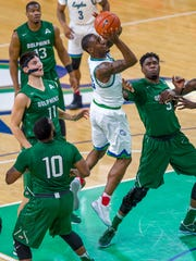If leading scorer and rebounder Brandon Goodwin misses his second straight game due to a disciplinary issue, FGCU likely will need another big outing from its second-leading scorer, junior guard Zach Johnson, to get past Jacksonville at home on Saturday night. Johnson led the Eagles with 19 points in FGCU's win at UNF on Wednesday night.