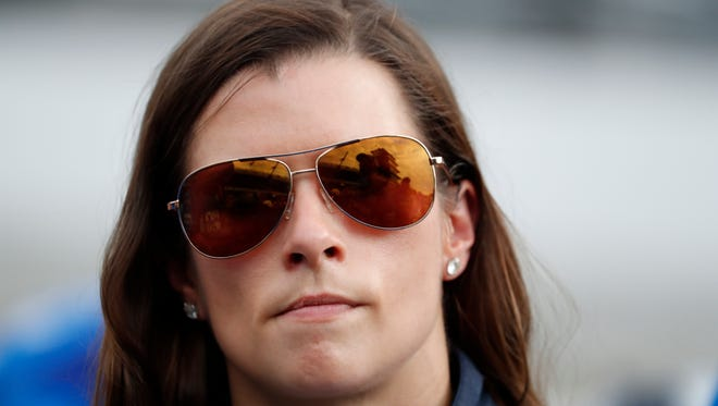 Danica Patrick has appeared in 180 races over five-plus years in NASCAR's Cup series.